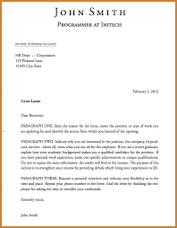letter of interest template notary letter