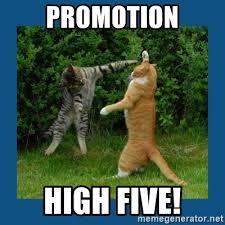 High Five Meme - promotion high five high five cats meme generator