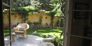 backyard fence decor outdoor furniture design and ideas