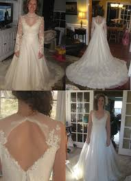before and after wedding dress alterations ahol dress 03