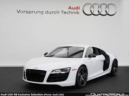 audi r8 v10 price usa audi introduces r8 exclusive selection editions for 2012