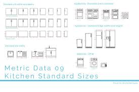 standard kitchen cabinet sizes chart in cm metric data 09 kitchen standard sizes in architecture