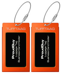 luggage tags business card holder tufftaag travel id tag in 10