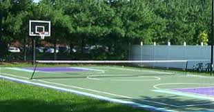 Backyard Basketball Court Backyard Court Backyard Basketball Court Outdoor Basketball Hoops