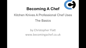 Basic Kitchen Knives A Chef In Training The Basic Knife Skills To Become A Chef Youtube