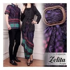 gambar model baju batik modern contoh model baju batik gamis