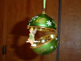 tinker bell and snowflakes glass ornament flickr