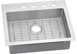 ELKAY Elkay Crosstown Stainless Steel  X  X  Single - Ada kitchen sink