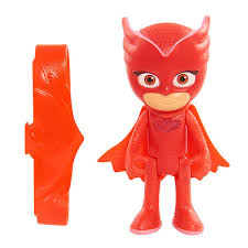 coming pj masks 3 light figure owlette play