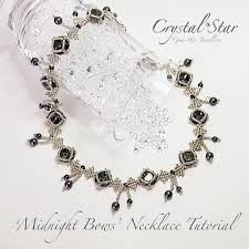 crystal lace necklace patterns images Necklace tutorials collection crystal star gems jewellery jpg