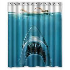 Shark Bedroom Curtains These Shark Underwater Window Curtains Add A Mysterious Vibe