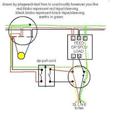 double pole pull cord switch wiring diagram wiring diagram