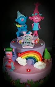trolls cake cake by silvia tartari cakesdecor
