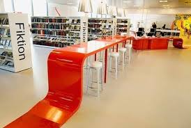 library design hjørring interior library design by bosc