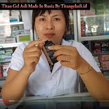 titan gel asli dan palsu titan gel asli
