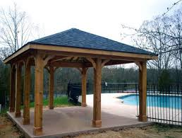surprising free wooden patio cover plans collection home tips new