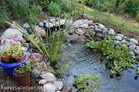 Backyard Garden Ponds How To Build A Backyard Garden Pond Empress Of Dirt