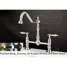 kingston kitchen faucets kingston brass solid lever 2 handle wall mount kitchen