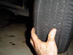 toyota tire wear tire wear