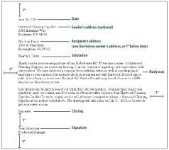 Business Letter Generic Recipient Sample Business Letter Format Template Letter Format Formal