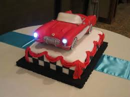 corvette birthday brilliant ideas corvette birthday cake all cakes