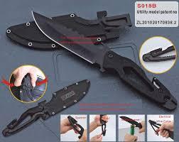 cool knife sr 018 multi functional knife tool black jungle cool knife hunting