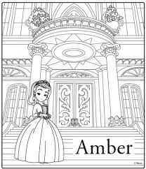 get this free sofia the first coloring pages to print 32708