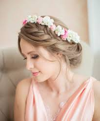 bridal loose half braided hairstyle topup wedding ideas