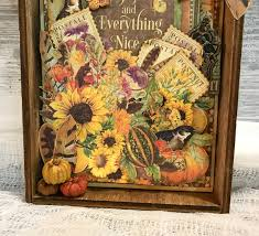 craft studio tour u0026 autumn decor tutorial by katelyn grosart