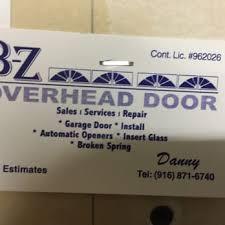 Sacramento Overhead Door B Z Overhead Door 10 Reviews Garage Door Services Sacramento