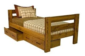 twin beds with storage drawers the young pioneer bed 6 mor