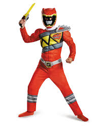 All Costumes Walmart Com Red Power Ranger Dino Charge Classic Muscle Child Halloween
