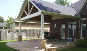 Patio Attached To The House Roof Covered Patio Ideas On A Budget Building A Patio Roof