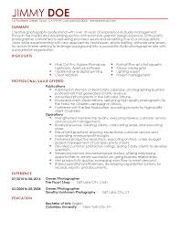 photographer resume template professional photographer templates to showcase your talent resume templates photographer