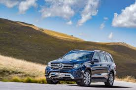 mercedes biturbo suv mercedes introduces all suv the 2017 gls class ny