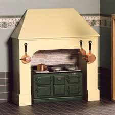 dolls house kitchen furniture coloured stove surround a busy day awaits dolls house