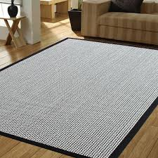 accent rug herringbone black cream indoor accent rug a1hcshop