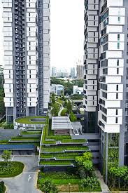 amazing hdb estates in singapore tour sky ville and sky terrace