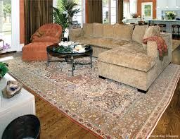 Traditional Family Rooms by Extremely Fine Earth Tone Tabriz Is The Luxurious Base Of This