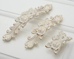 Shabby Chic Drawer Handles by 3 75 5shabby Chic Dresser Drawer Pulls Handles White Silver