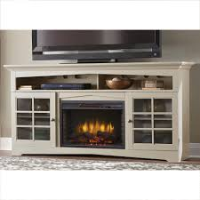 Entertainment Center With Bookshelves Electric Fireplaces Fireplaces The Home Depot