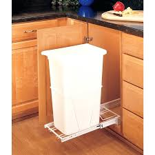 kitchen trash can cabinet kitchen cabinet garbage can holder 10