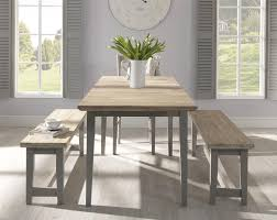 florence large pedestal round dining table 120cm dove grey