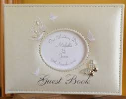 personalised photo albums wedding guest books albums personalised gifts ennis clare