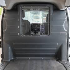 nissan nv200 cargo bodyguard van liners u2014 nissan nv200 window partition grey
