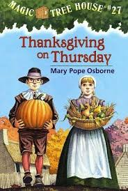 magic tree house 27 thanksgiving on thursday by pope