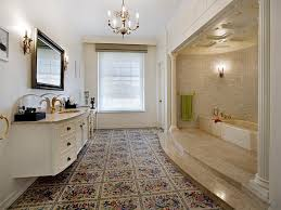 retro bathroom ideas retro bathroom design with recessed bath using marble bathroom