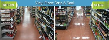 vinyl floor cleaning stripping and sealing
