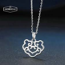 lock pendant necklace images Safety lock pendant necklace gemheal jpg