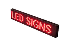 lighted message board signs scrolling led signs signs by web
